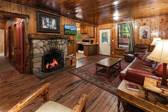 Idyllwild, Καλιφόρνια: Cabin 2 (3 bedrooms) Living Room