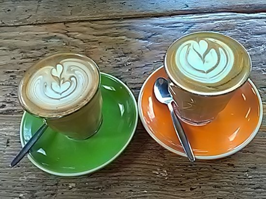Willoughby, Australia: cafe latte art