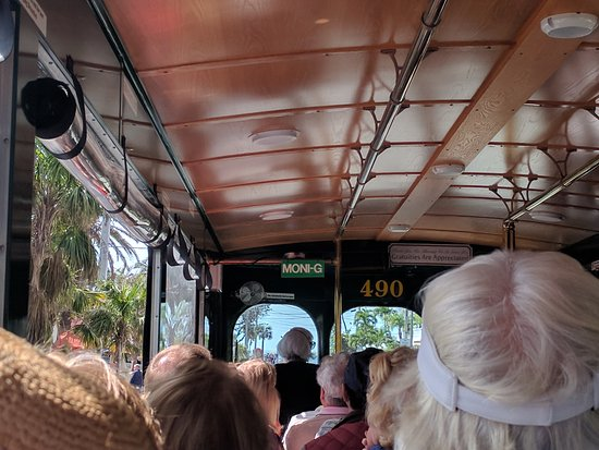 Old Town Trolley Tours Key West : The only way to tour the island, with Moni G!