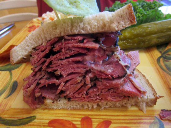 Livingston, Nueva Jersey: Hot Pastrami Sandwich