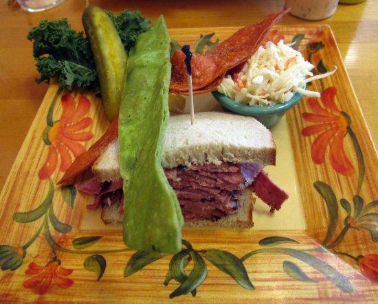 Livingston, Nueva Jersey: Hot Pastrami Sandwich