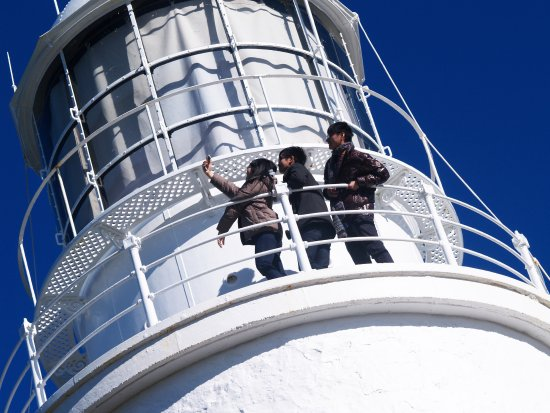 Bruny Island, Australien: Walk out onto the Lighthouse Balcony for amazing viewing