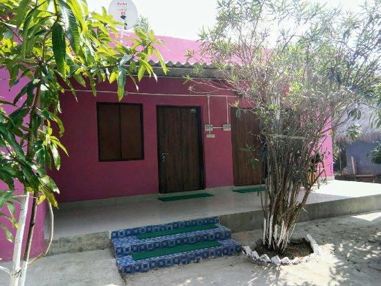 Bhitarkanika National Park, Indien: Cottages at Estuarine Village Resort Bhitarkanika