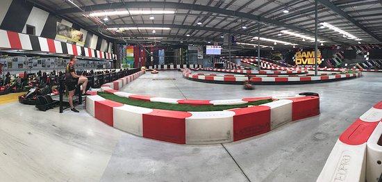 Helensvale, Australien: Great indoor Track