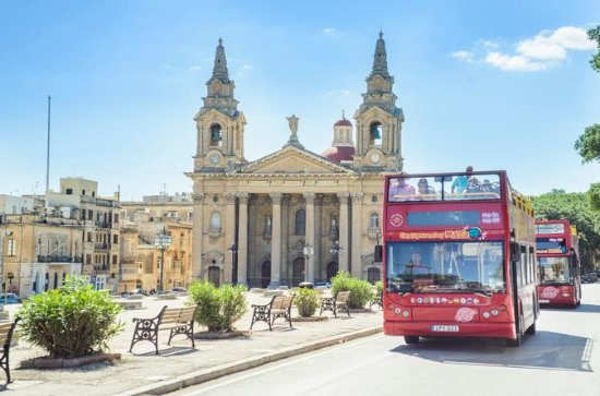 Malta Hop-On Hop-Off Bus Tour Shore...