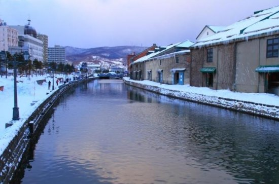 Full Day Otaru Canal and Sledding...