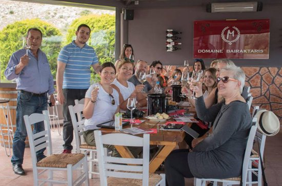 Athens to Peloponnese Wines and Ancient Corinth Private Tour