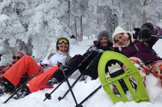 Snowshoe Hiking in Madrid - Small Group