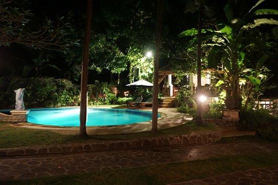 Rangdu, Indonésie : Fairy tale atmosphere in the evening