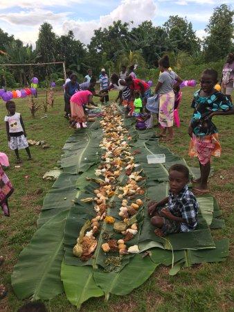 Ramata Island, Solomon Islands: Traditional New Years Feast