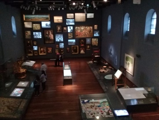Museo Nacional de Colombia: One of the galleries.