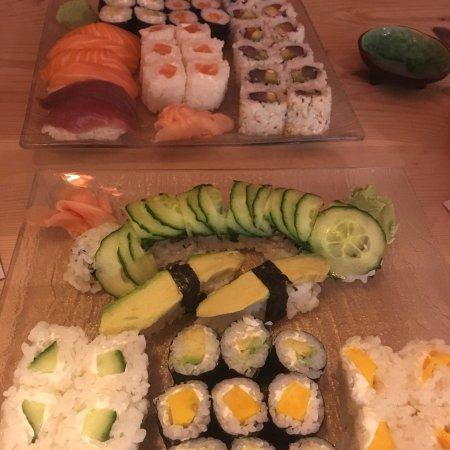 sushis volont photo de king sushi nice tripadvisor. Black Bedroom Furniture Sets. Home Design Ideas