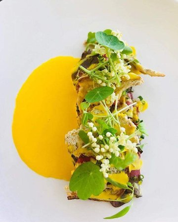 Benowa, Australien: Pickled Wagyu Beef - Videre Restaurant