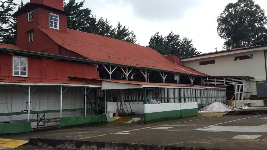 Poas Volcano National Park, Costa Rica: The processing plant
