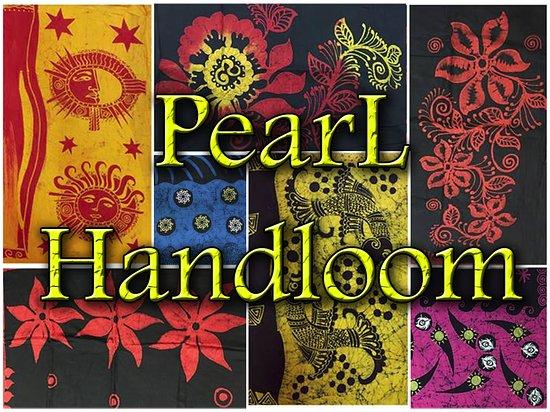 Kandy, Sri Lanka: Pearl Handloom