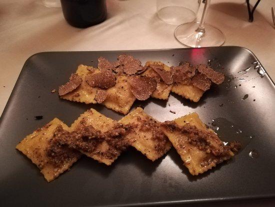 Montone, Italia: ravioli