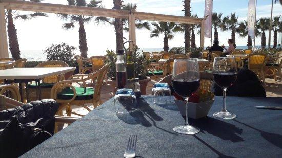 "Sunway Playa Golf Hotel & Spa: Terrasse du restaurant de l'hôte ""Le Vento"""
