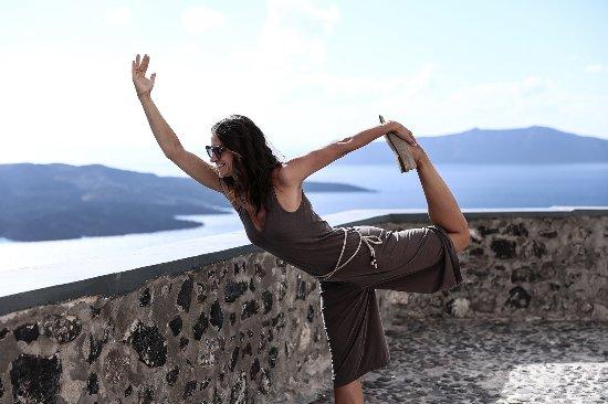 Santorini Yoga With Veronika