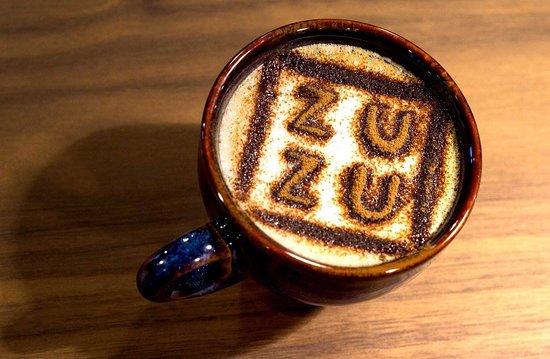 ZUZU concept store: ZUZU latte...