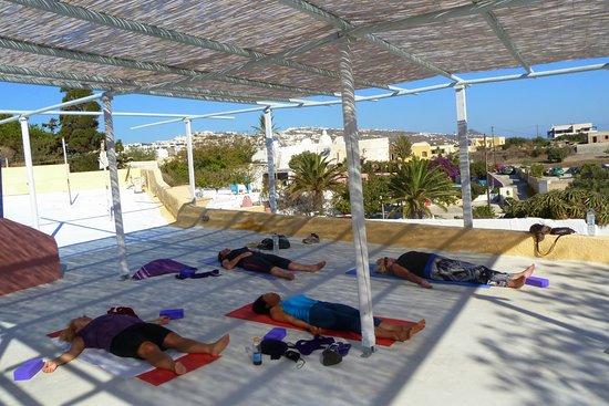 Public class at Caveland terrace
