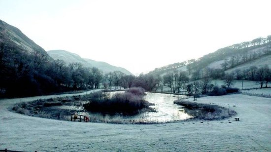 Builth Wells, UK: View from our bedroom.
