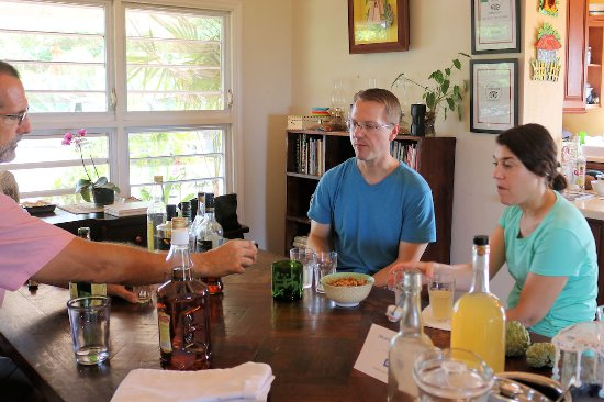 Nicole's Table: Rum taste testing with Mark and Julia.