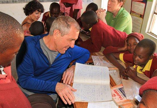 Hwange, Zimbabwe: School visit