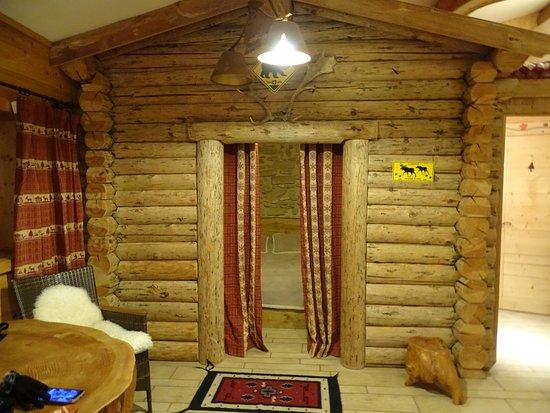 Upie, Francia: lit à l'intérieur de la cabane