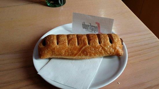 Bar Macao: Pasta al cioccolato :)