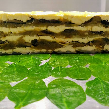 Dorset, VT: Prix Fixe Dinner:  Mushroom & Goat Cheese Terrine