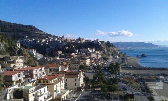 Palazzo Suriano Amalfi Coast: Vista su Marina di Vietri, Vietri e costa di Salerno