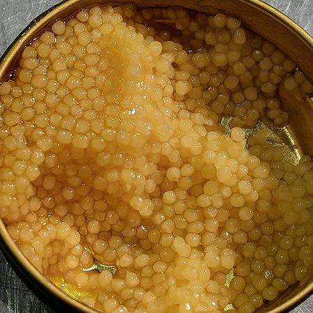 Dorset, VT: Pix Fixe Dinner:  Royal Sterling White Sturgeon Caviar