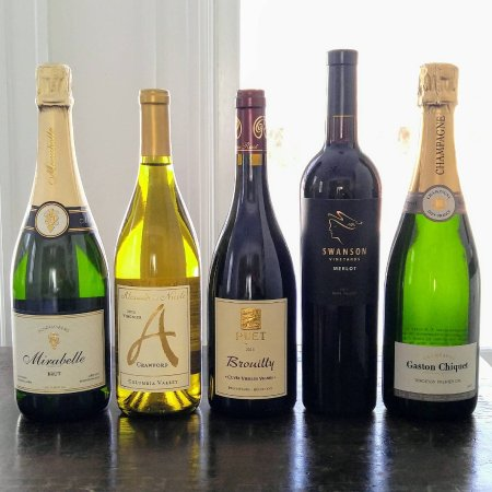 Dorset, VT: Paired wines for our 2018 New Year's Eve Prix Fixe Dinner