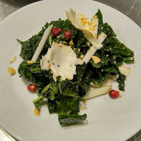 Dorset, VT: Prix Fixe Dinner:  Lacinato Kale & Macoun Apple Salad