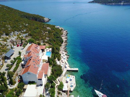 Sudurad, Κροατία: Hotel Bozica - Aerial View