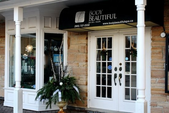 Body Beautiful Day Spa : Front Entrance