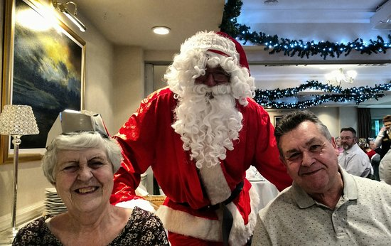 Wetheral, UK: Christmas lunch Santa visit!