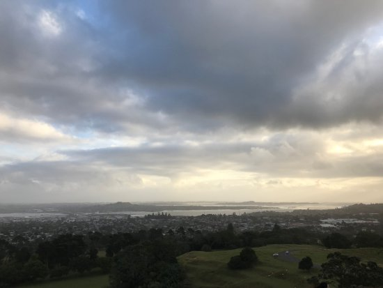 One Tree Hill (Maungakiekie): View from hill