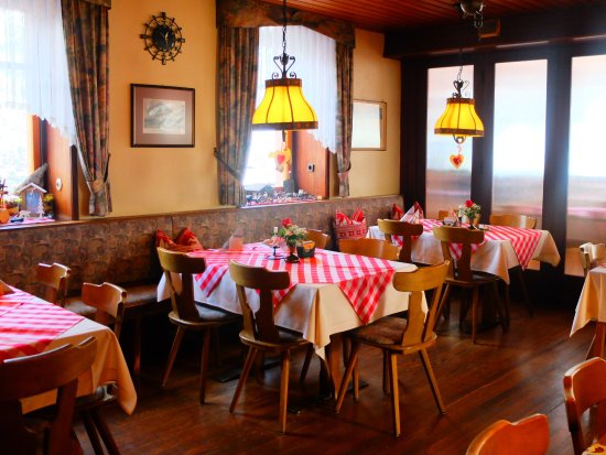 Seelbach, Deutschland: Gemütliche Gaststube