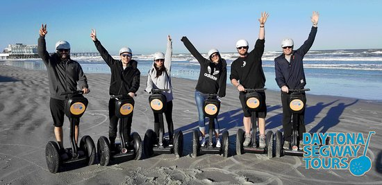 Daytona Beach, FL: #Cruise the sands and streets of #Daytona #Beach on your very own #Segway #tour! 😁 Book now!