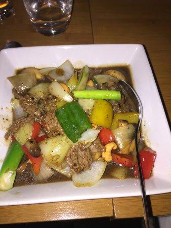 Kinnaree Thai Cuisine: beef
