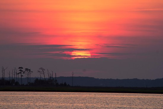 a2cc3fecd4ccc Spectacular sunset - Picture of Spartina Sailing Adventures