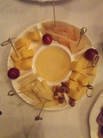 Restaurant Balmont: сырная тарелка