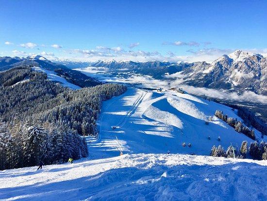 Oberaichwald, Austria: Blick vom Hahnenwipfel