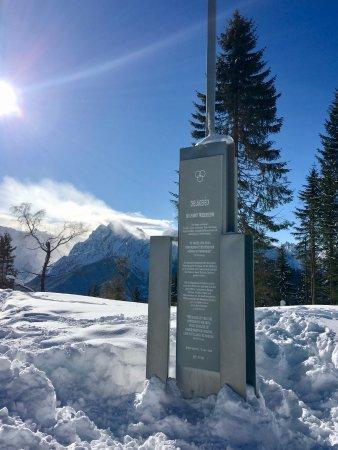 Oberaichwald, Österrike: Dreiländereck