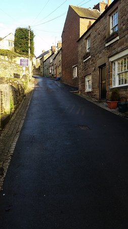 Up the lane from Wirksworth to the StarDisk