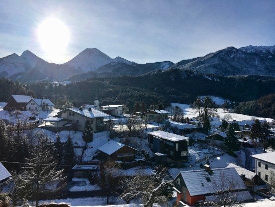 Oberaichwald, Austria: Blick aus Appartement