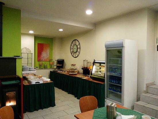Villadossola, Italy: Sala colazione