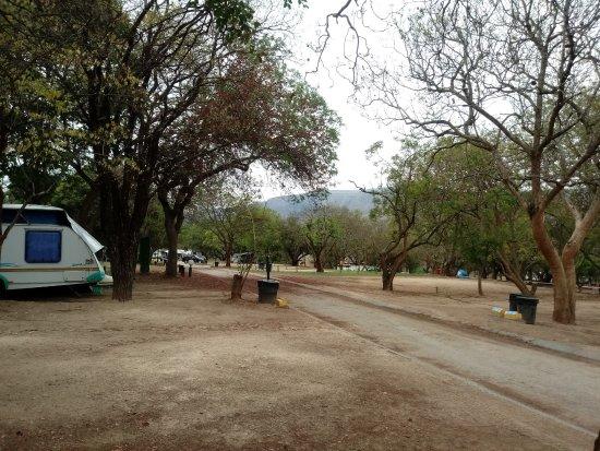 Badplaas, Afrika Selatan: Campsite