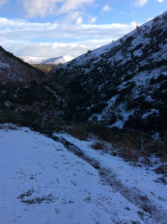 All Stretton, UK : Descending from Caer Caradoc